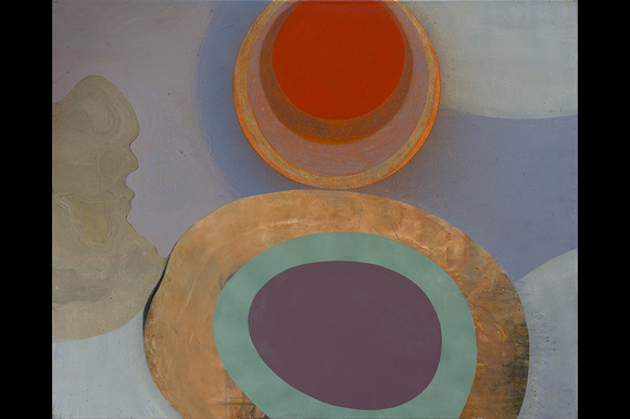 Abstract Oval Shapes
