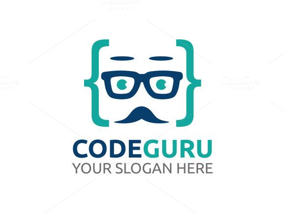 Code Guru Logo Template