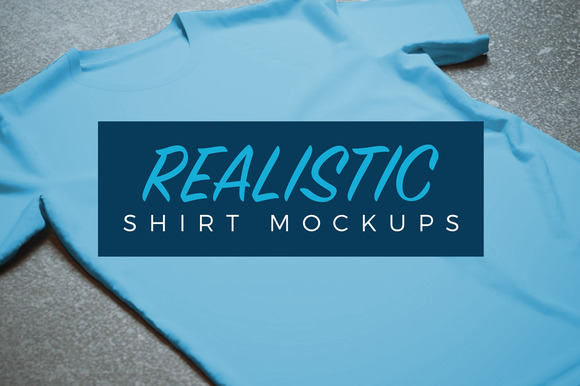 10 Isolated Realistic Tshirt Mockups