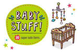 BIG SET of Baby Stuff! =30 in 1=
