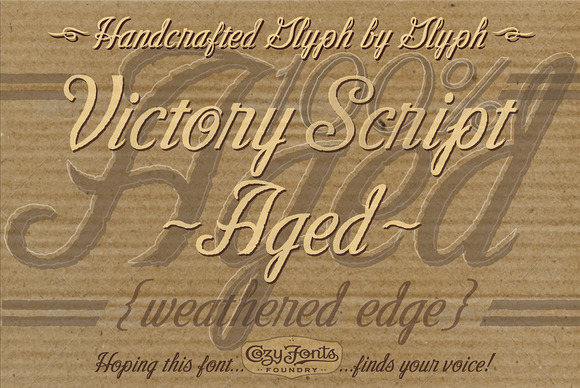 Victory Script Aged