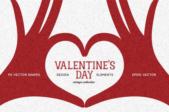 Valentine S Day Design Elements