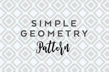 Simple geometry pattern vector + jpg