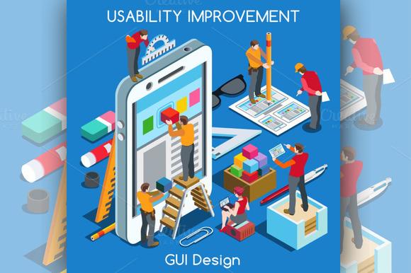 GUI Design Smartphone App