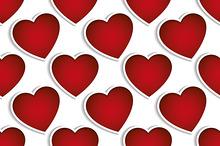 Valentine's seamless vector patterns