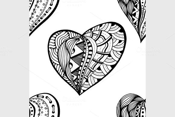 Hand Drawn Ornamental Heart