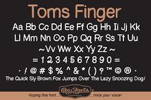 Toms Finger