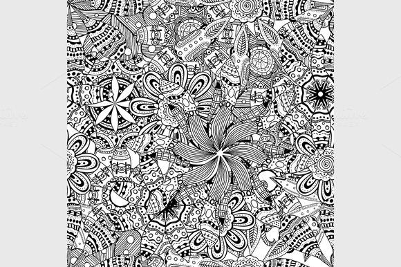 Doodle Background Pattern
