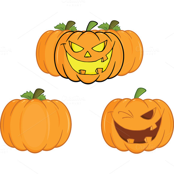 Halloween Pumpkins Collection 2