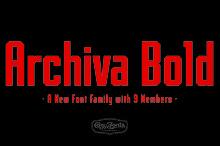 Archiva Bold