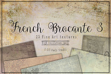 French Brocante Texture set 3
