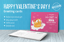 70 Valentine's Day greeting cards v1