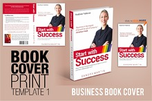 Book Cover TEMPLATE 1 - Business
