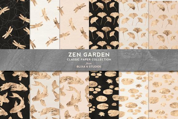 Zen Garden Golden Koi Dragonfly