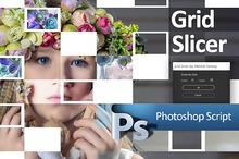 Grid Slicer Photoshop Script