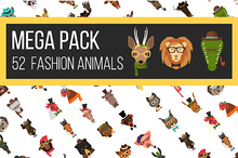 Big Bundle of Fashion Animal Icons