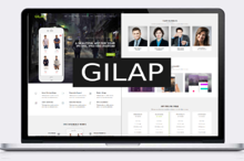 Gilap - Apps Landing Page