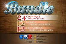 48 in 3 styles Bundle