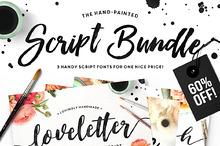 The Brush Script Bundle • 60% OFF