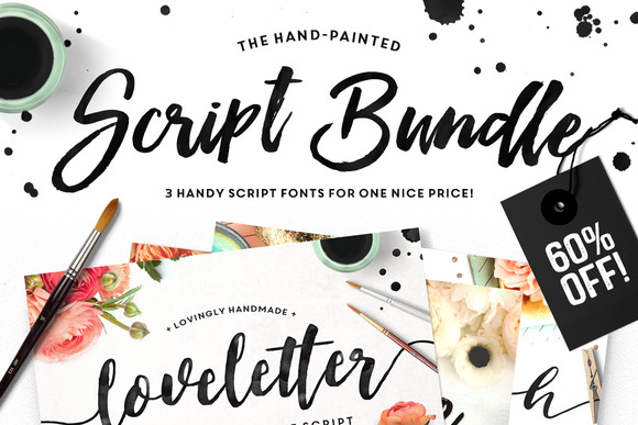 The Brush Script Bundle 524415