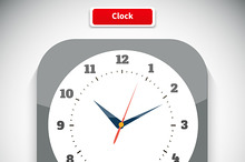 Time and Clock App Icon