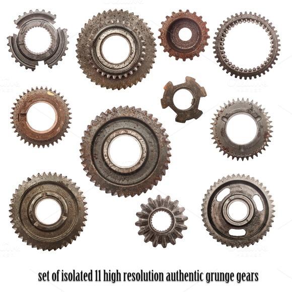 11 High Resolution Cog Wheels Gear
