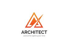 Architect Letter A Logo