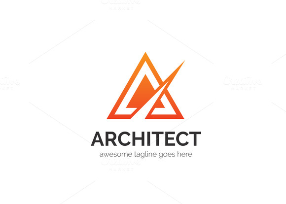 Architect Letter A Logo