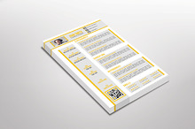 Yellovi Resume Template