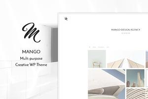 Mango - Portfolio WP Theme