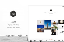 Mars - Portfolio WP Theme