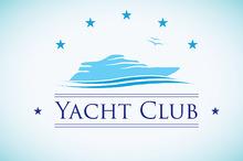 Yacht Club Logo Template