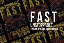 Fast Unstoppable Illustration