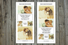 Wedding Photographer Rack Card-V202