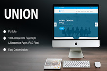 Union Portfolio PSD Template