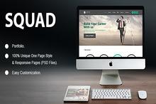 Squad Porfolio PSD Template