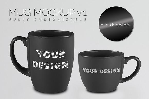 Mug MockUp v.1 - Product Mockups