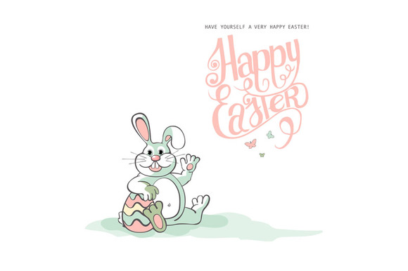 easter bunny pixels wide tall creativemarket