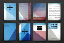 Set of Beautiful Brochures