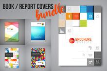 Report / book / brochure cover set