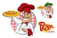 Cook Pizza. Set
