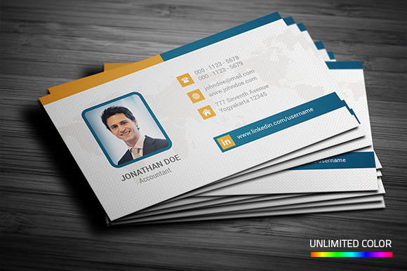 Professional Business Card Business Card Templates on