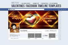 Valentines Day Facebook Timeline