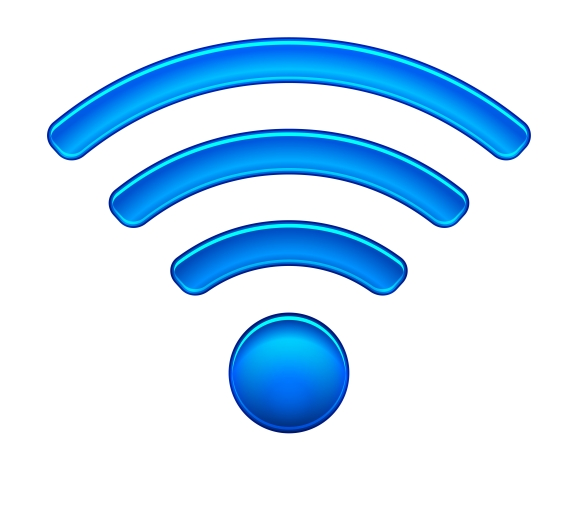 Wireless Network Symbol wifi icon ~ Graphics on Creative ...