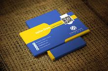 Yellish Business Card Template