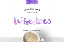 Whedoes Handmade Font