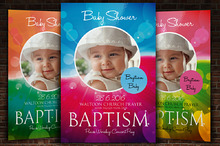 Baptize Church Flyer Template