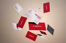 Elegant Business Cards Mockups