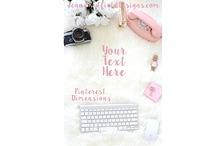 Pinterest Size Styled Stock Photo
