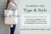 Tote Bag Styled Stock Photo - scene